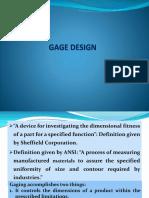 4 Gage Design