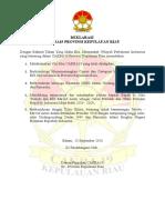 Deklarasi CAKRA19