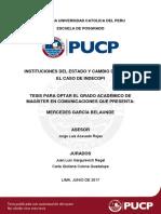 Garcia Belaunde Instituciones Del Estado y Cambio de Imagen El Caso de Indecopi