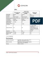 Información SFP Module Ceragon 1500R