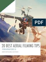 20 best aerial filming tips