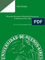 Programa Jornadas 2018
