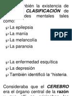 Clasificacion de Emociones Hipocrates