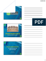 Processo Administrativo Slides