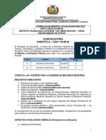 Enviando CDO 118 POTOSI Inst Tecn Sup Lib Simon Bolivar Uncia