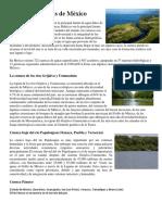 Cuencas Hídricas de México