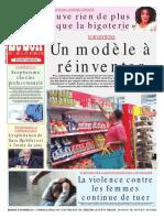 Journal Le Soir d Algerie Du 25.11.2018