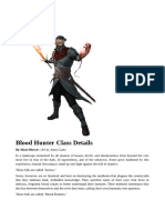 The Class Blood Hunter 5.0