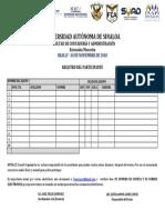 Formato Registros de Participante de REALLY