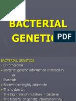 Bacterial, Genetics