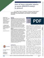 PROFIT STUDY - Protocolos Para Avaliação de MMII