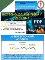 La Biotecnología Moderna