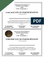Certificates s