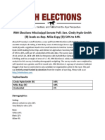 RRH Elections MS-Sen Poll 2018 News Release