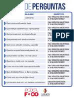 OPdF 5.2 Lista de Perguntas Não Preenchida