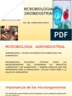 Clase 1. Microbiologia Agroindustrial