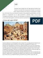 Crisis Del Siglo XVII - 3