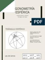 Trigonometría Esférica-ejercicios 3