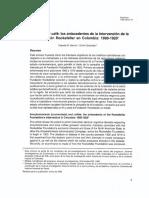Uncinariasis y café los antecedentes de la intervención de laFundación Rockefeller en Colombia 1900-1 920.pdf