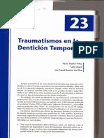 Trauma en odontopediatria
