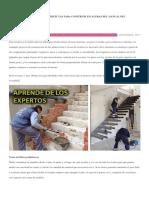 Apunta Gratis Las Medidas Perfectas Para Construir Escaleras Del Manual Del Carpintero