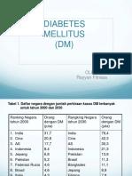 DT - DIABETES MELITUS.ppt