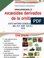 Alcaloides Derivados de Ornitina