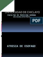 Atresia de Esofago (1)