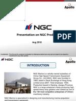 Presentation on NGC - Aug 18
