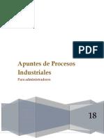 Apuntes de Procesos Industriales Para Administradores