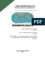 Apostila de Missiologia (Seminário Presbiteriano Rev. José Manoel da Conceição).pdf
