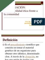 Unidad 3 - Clase 2 - La Clonacion