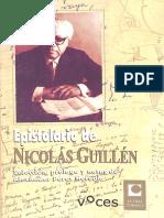 Epistolario de Nicolás Guillén
