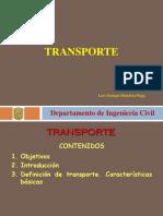 descripción de transporte