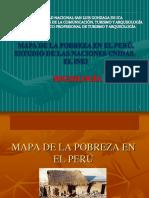 Semana 09 Mapa de La Pobreza en El Peru