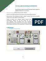 Informe Maquinas 3 - Sincronizacion de Generadores
