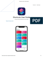 IOS Shortcuts User Guide v 2.1