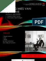 Ludwig Mies Van Der Rohe HISTORIA