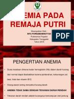 Anemia Pada Remaja Putri Smk
