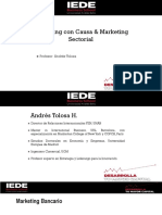 Marketing Con Causa y Sectorial