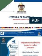 22. Importancia Del Clima Laboral en Los Procesos_ppt_Seminario Ingeniería Naval 2016