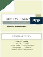 Slide Dst Kuret Gingiva (Pasien Tn. Frans Pelongan)