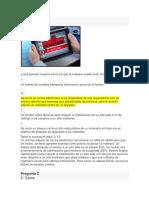 Cuestionario Capítulo 2 de Introducción a La Ciberseguridad (Introduction to Cybersecurity) 2.1.