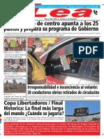 Periódico Lea Lunes 26 de Noviembre Del 2018