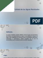 Generación y Calidad de Aguas Residuales