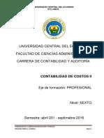 Syllabus Costos II - CA- Septiembre 2015 - Febrero 2016 (1)