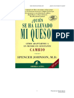 Quien se ha llevado mi queso - Spencer Johnson .pdf