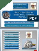 16. Gestión de Activos en Busca de La Excelencia Operacional_ppt_Seminario Naval 2015