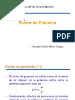 5 Factor de Potencia