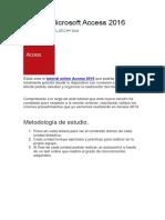 Manual Access 2016